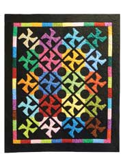 Dutch Windmills Quilt Pattern