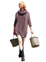 Essential Sweater Dress Knit Pattern