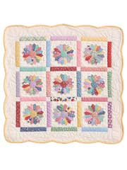 Mini Dresden Quilt Pattern w/ Template