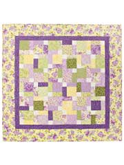 Tossed Nine Patch Quilt Pattern