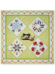 Stitchin' Addiction Quilt Pattern