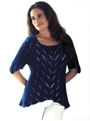 Lace Tunic Knit Pattern