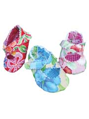 Quilted Baby Criss Cross Shoe Sewing Pattern