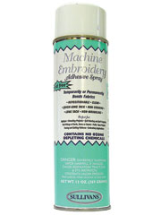 Machine Embroidery Adhesive Spray