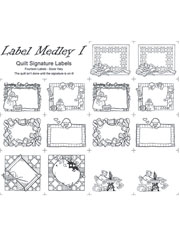 Quilt Label Medley 1