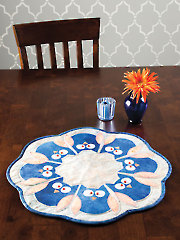 Circle of Owls Table Topper Pattern