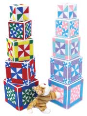 Baby Pinwheel Stacking Blocks