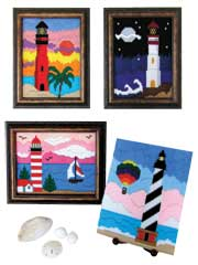 Longstitch Lighthouse Scenes