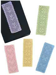 Spring Filet Bookmarks Crochet Pattern Pack