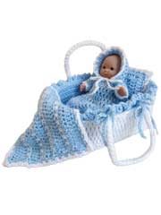 Moses Basket Baby Crochet Pattern Pack
