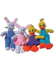 Easter Bunnies & Ducks Pattern Pack