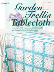 Garden Trellis Tablecloth