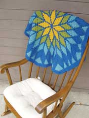 Reims Baby Quilt Crochet Pattern
