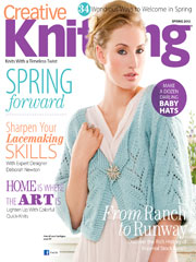 Creative Knitting Spring 2013