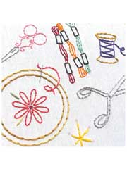 Craftopia Iron-on Embroidery Patterns