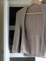 Wispy Cardigan Knit Pattern