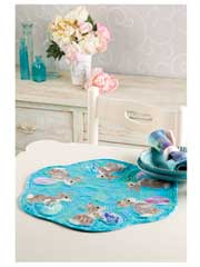 Easter Egg Roll Table Mat Pattern