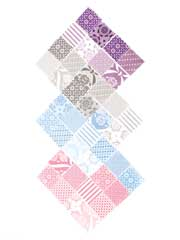 Jubilee Mini Charm Pack-42/pkg.