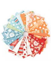 Flutter Fat Quarters-24/pkg.