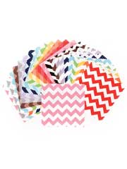 Small Chevron Charm Pack-24/pkg.