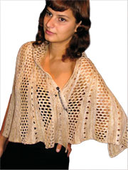 Crescendo Shawl Knit Pattern