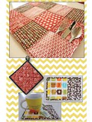 Quilted Kitchen Accessories Pattern