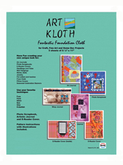 Art Kloth Foundation Cloth with E-Reader Sewing Patterns