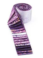 Vineyard Batik Jelly Roll-20/pkg.
