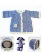 Toddler Cotton Coat & Bunny