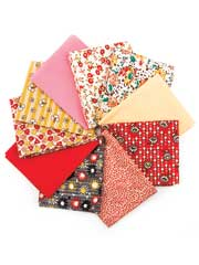 Emma Lena's Treasures Fat Quarters-10/pkg.