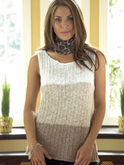 Three Tone Tunic Knit Pattern