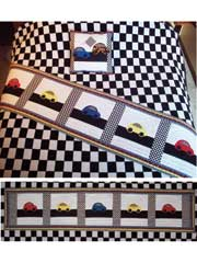Little Race Cars Quilt Pattern