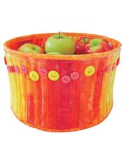 Modern Fruit Bowl Sewing Pattern