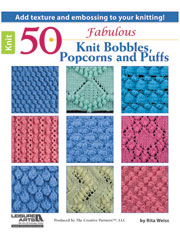 50 Fabulous Knit Bobbles, Popcorns and Puffs