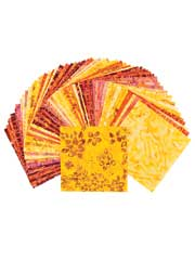 Summer Nights Batik Charm Pack-60/pkg.