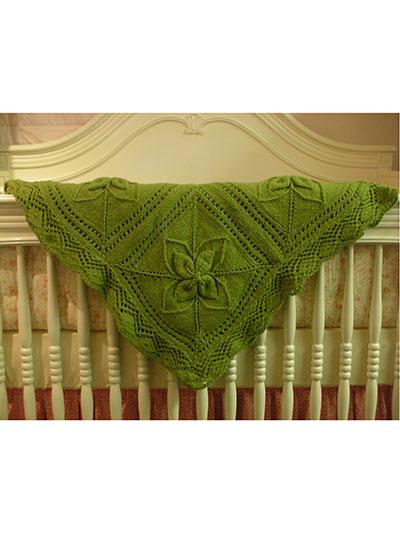 Ariel Counterpane Baby Blanket Knit Pattern
