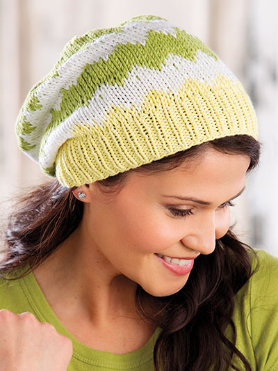 Coastline Hat Knit Pattern