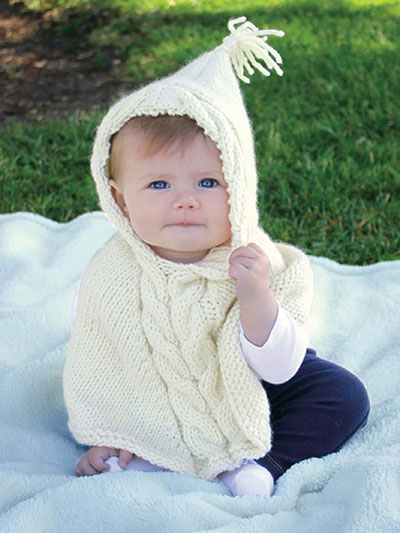 Poncho Knitting Pattern Will Warm You Up Knitting Patterns Lessons