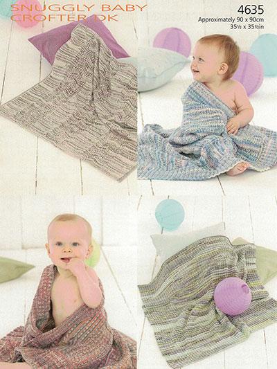 Sirdar Snuggly Baby Blankets
