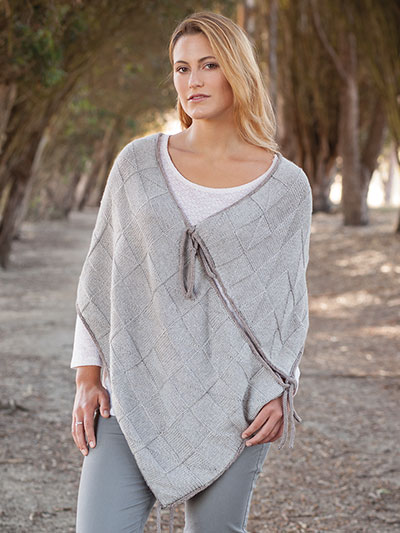 Poncho Knitting Pattern Will Warm You Up
