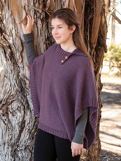Coralina Poncho Knit pattern