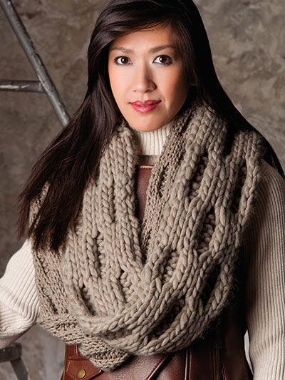 99ac11d34fa4d Replier Cowl Knit Pattern · Pebbles and stones cowl knit pattern