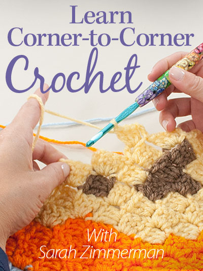 5 Adorable Corner-to-Corner Lap Throws You Will Love to Crochet