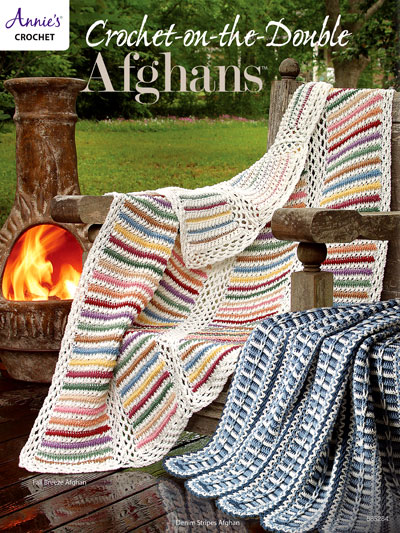 crochet on the double afghans