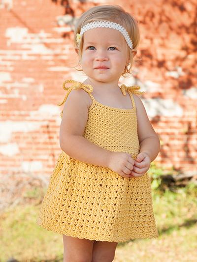 Crochet Girl Dress Patterns For Spring Summer Crochet For You