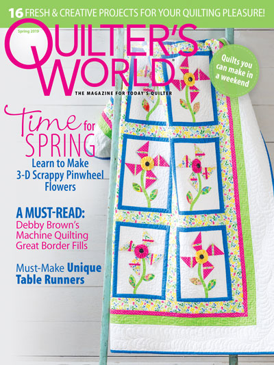 Quilter's World Spring 2019