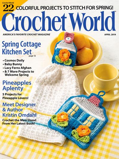 Crochet World April 2019