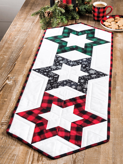 Christmas Runner Quilt Pattern.Christmas Quilting Patterns