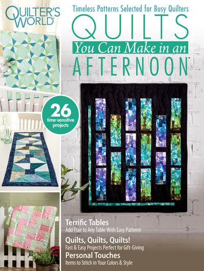 Quilts You Can Make in an Afternoon