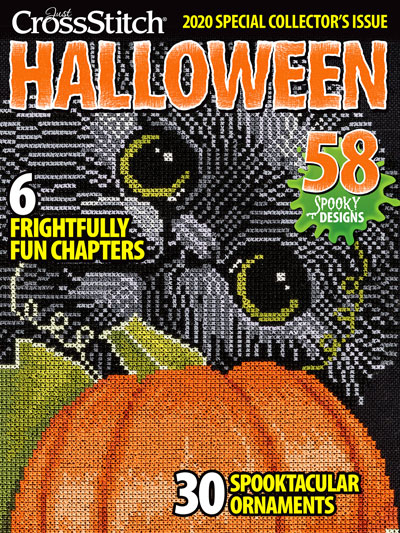 Just Cross Stitch Halloween 2020 Free Just CrossStitch Magazine's Special Issue